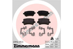 Klocki hamulcowe - komplet ZIMMERMANN 23914.170.3 ZIMMERMANN 23914.170.3