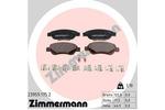Klocki hamulcowe - komplet ZIMMERMANN 239591752