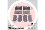 Klocki hamulcowe - komplet ZIMMERMANN 24098.170.1 ZIMMERMANN 24098.170.1