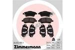 Klocki hamulcowe - komplet ZIMMERMANN  24122.190.1