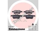 Klocki hamulcowe - komplet ZIMMERMANN  24137.168.1