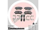 Klocki hamulcowe - komplet ZIMMERMANN  24421.170.3