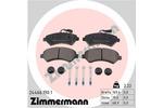 Klocki hamulcowe - komplet ZIMMERMANN  24466.190.1
