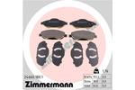 Klocki hamulcowe - komplet ZIMMERMANN  24660.180.1