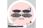 Klocki hamulcowe - komplet ZIMMERMANN 24738.200.2