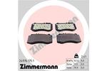 Klocki hamulcowe - komplet ZIMMERMANN  24976.175.1