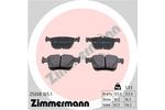 Klocki hamulcowe - komplet ZIMMERMANN 25008.165.1 ZIMMERMANN 25008.165.1
