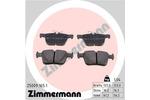 Klocki hamulcowe - komplet ZIMMERMANN 25009.165.1