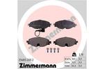 Klocki hamulcowe - komplet ZIMMERMANN 25683.200.2 ZIMMERMANN 25683.200.2