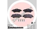 Klocki hamulcowe - komplet ZIMMERMANN  29190.195.1