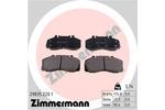 Klocki hamulcowe - komplet ZIMMERMANN  29835.220.1