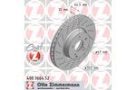 Tarcza hamulcowa ZIMMERMANN 400366452