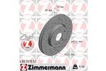 Tarcza hamulcowa ZIMMERMANN  430.2615.52