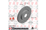 Tarcza hamulcowa ZIMMERMANN  430.2618.52