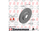 Tarcza hamulcowa ZIMMERMANN 430.2621.52