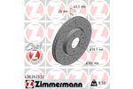 Tarcza hamulcowa ZIMMERMANN 430.2623.52