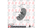 Tarcza hamulcowa ZIMMERMANN  440.3121.00