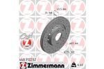 Tarcza hamulcowa ZIMMERMANN 440.3122.52