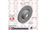 Tarcza hamulcowa ZIMMERMANN 450520420