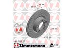 Tarcza hamulcowa ZIMMERMANN 460.1530.20 ZIMMERMANN 460.1530.20