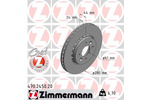 Tarcza hamulcowa ZIMMERMANN 470.2450.20