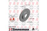 Tarcza hamulcowa ZIMMERMANN 600.1158.20