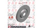 Tarcza hamulcowa ZIMMERMANN 600.3243.20 ZIMMERMANN 600.3243.20