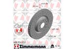 Tarcza hamulcowa ZIMMERMANN 600.3243.52