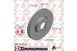 Tarcza hamulcowa ZIMMERMANN  600.3249.20