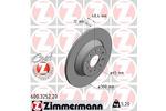 Tarcza hamulcowa ZIMMERMANN 600.3252.20