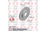 Tarcza hamulcowa ZIMMERMANN 600.1158.52