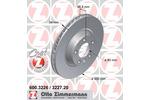 Tarcza hamulcowa ZIMMERMANN 600.3226.20
