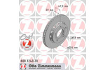 Tarcza hamulcowa ZIMMERMANN 600.3240.20