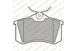 Klocki hamulcowe - komplet DELPHI LP2254 DELPHI LP2254