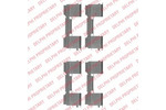 Zestaw akcesoriów klocków hamulcowych DELPHI LX0478