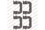 Zestaw akcesoriów klocków hamulcowych DELPHI LX0514 DELPHI LX0514