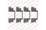 Zestaw akcesoriów klocków hamulcowych DELPHI LX0525 DELPHI LX0525