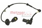 Czujnik prędkości obrotowej koła (ABS lub ESP) METZGER  0900698