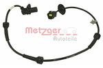 Czujnik prędkości obrotowej koła (ABS lub ESP) METZGER  0900698-Foto 2
