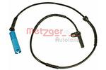 Czujnik prędkości obrotowej koła (ABS lub ESP) METZGER  0900704 (Oś tylna) (z obu stron)