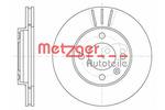 Tarcza hamulcowa METZGER 6084.10
