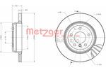 Tarcza hamulcowa METZGER 6110259 METZGER 6110259