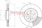 Tarcza hamulcowa METZGER 6110669