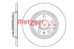 Tarcza hamulcowa METZGER 61112.00 METZGER 61112.00