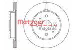 Tarcza hamulcowa METZGER 6110277 METZGER 6110277
