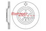 Tarcza hamulcowa METZGER 61309.10 METZGER 61309.10