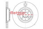 Tarcza hamulcowa METZGER 6316.11 METZGER 6316.11