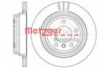 Tarcza hamulcowa METZGER 6588.10 METZGER 6588.10