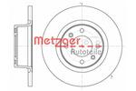 Tarcza hamulcowa METZGER 6605.00