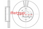 Tarcza hamulcowa METZGER 6610.10
